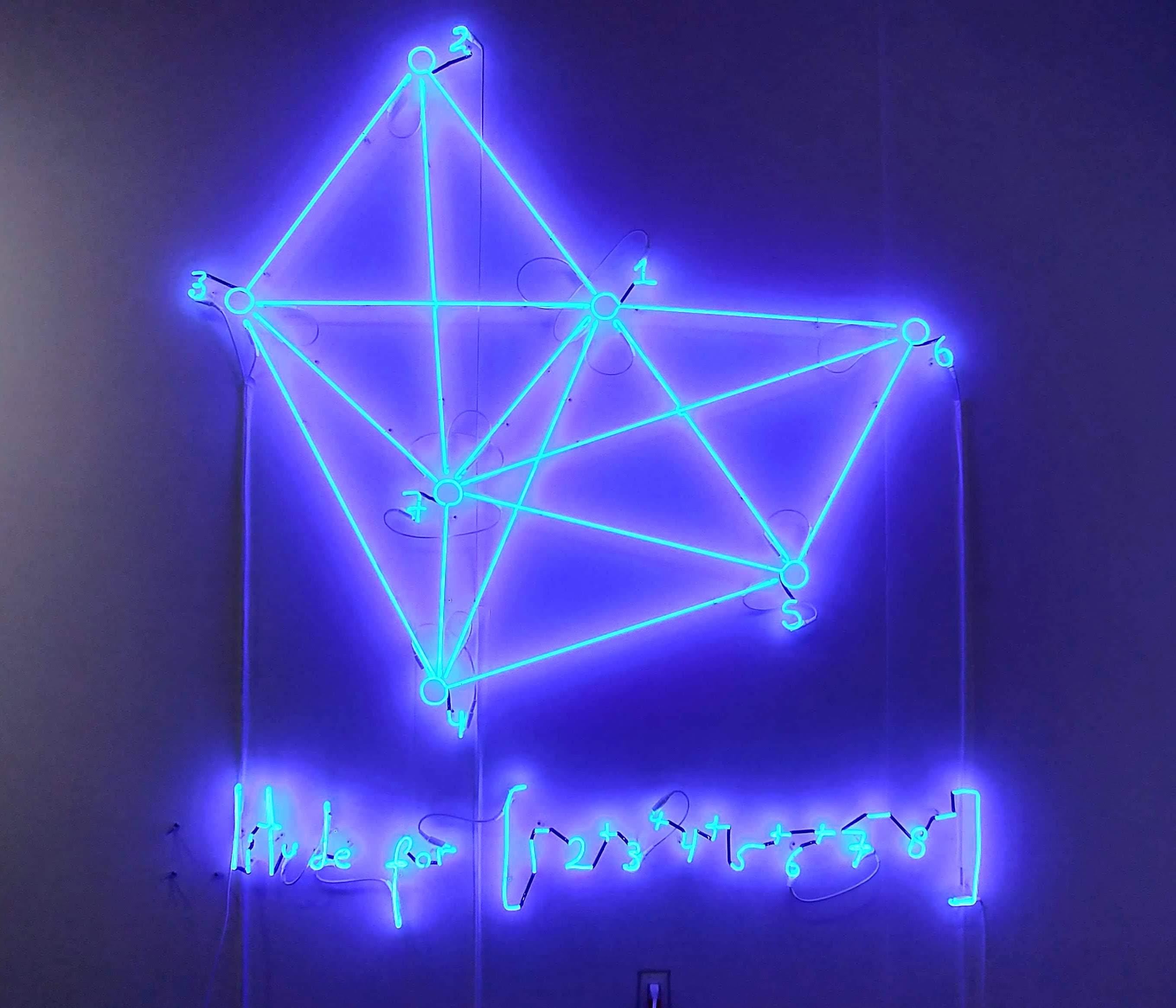 Study on Amplituhedron, 2017 ©Andrea Galvani.