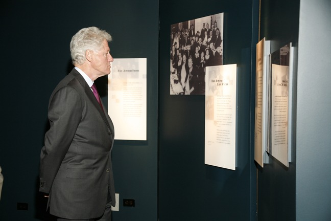Ron Gould Clinton at Holocaust Chicago Photography