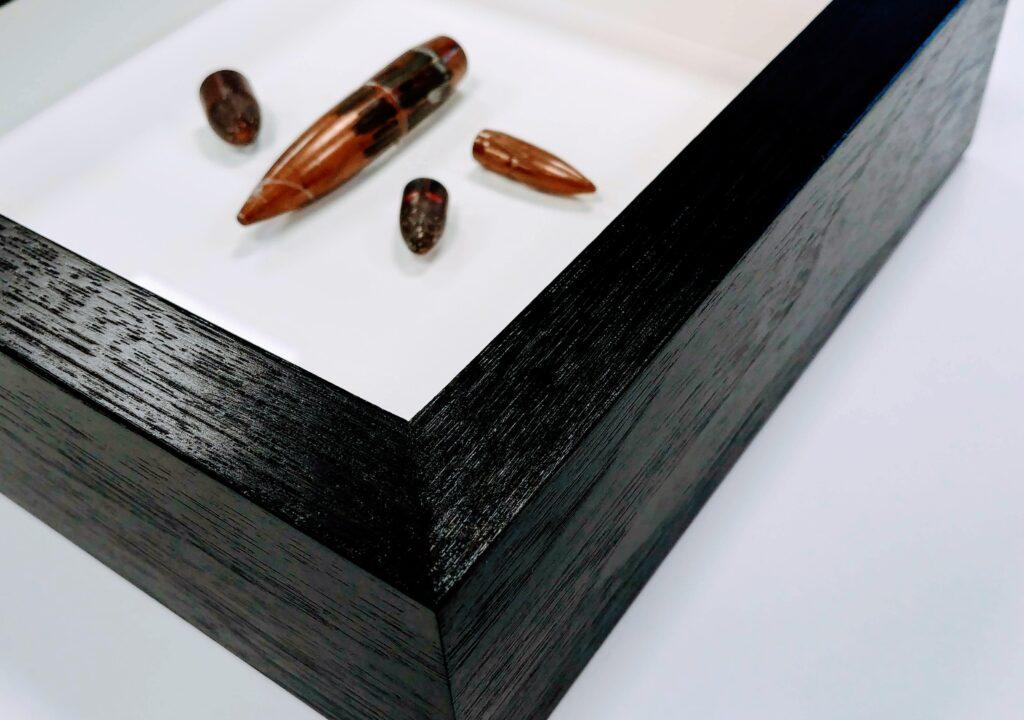 Shadowbox custom framed objects