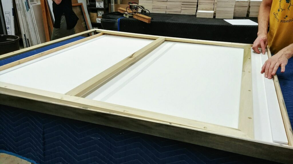 Fitting Custom Picture Frame with Strainer